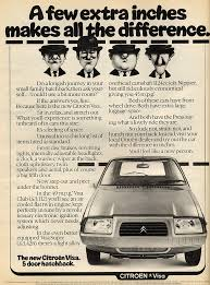 vintage citroen cars citroen visa vintage car ads