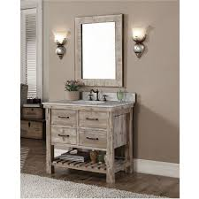 42 Inch Bathroom Vanity Without Top by 34 Best Rustic Bathroom Vanities Images On Pinterest Rustic