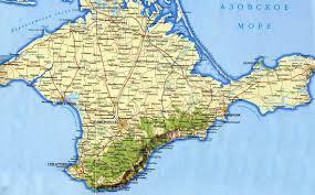 europe peninsulas map crimea peninsula map crimea mappery
