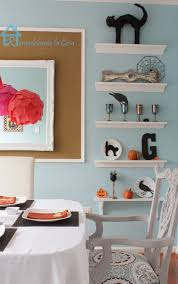dining room shelves remodelando la casa halloween home decor the easy way
