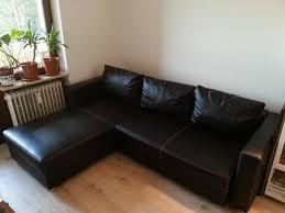 kunstleder sofa schwarz schlafsofa kunstleder schwarz möbelideen