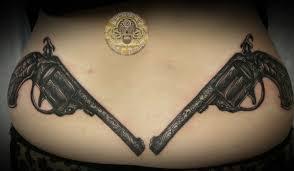 35 awesome gun tattoo designs art and design
