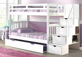 staircase bunk bed white mattress superstore