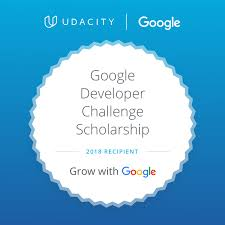 With Challenge Accepted Developer Challenge Scholarship For Udacity