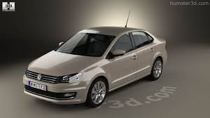 volkswagen sedan 2015 360 view of volkswagen polo highline sedan 2015 3d model hum3d store
