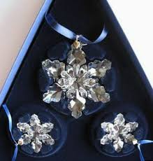 swarovski 2008 ornament set of 3 946487 the