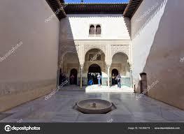 chambre du conseil patio mexuar cour de la chambre du conseil alhambra gra