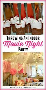 Backyard Movie Party by Best 25 Indoor Movie Night Ideas On Pinterest Backyard Movie