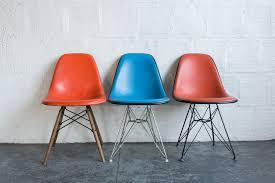 vintage eames upholstered side shells u2013 the good mod