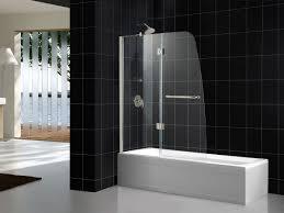 glass shower doors for tubs dreamline aqua 48