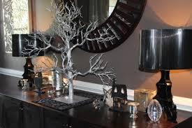 small halloween ornaments silver and black halloween decor ideas meredith ehler
