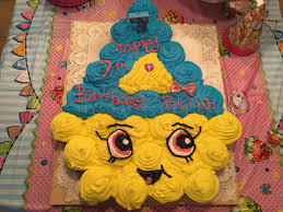 Cupcake Queen Pull Apart Cake Shopkins Bella Bday Theme