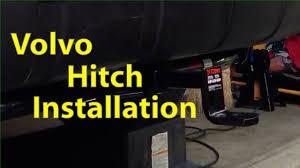 volvo hitch installation