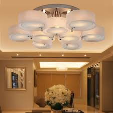 Acrylic Ceiling Light Lightinthebox Acrylic Chandelier With 9 Lights Modern