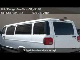 dodge ram vans for sale 1997 dodge ram 3500 maxi passenger for sale in mo