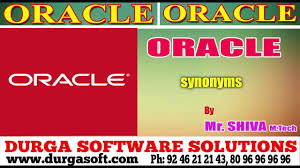 oracle synonyms by siva youtube