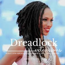 installing extension dreads in short hair what you need to know about synthetic dreadlock extensions