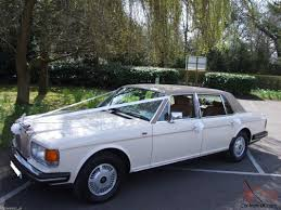 rolls royce silver spur rolls royce silver spur lwb leather nav cream wedding car for sale
