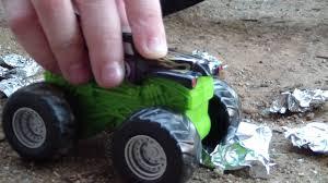 youtube monster jam trucks aluminum foil cars for monster truck toys youtube