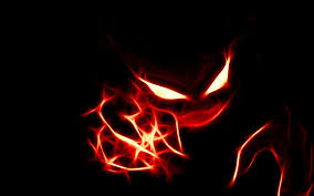 gengar 1920x1080 halloween background wallpapers black and red 89