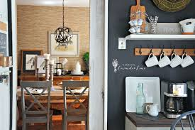 Chalkboard Ideas For Kitchen by Adding Drama With A Chalkboard Wall