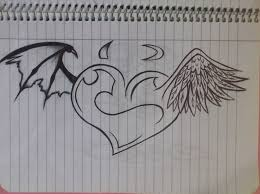 the 25 best angel devil tattoo ideas on pinterest angel demon