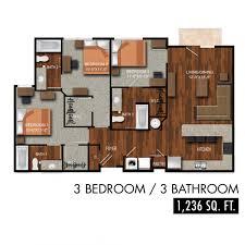 3 bedroom 3 bath floor plans 3 bed 3 bath theloftsatcitycenter