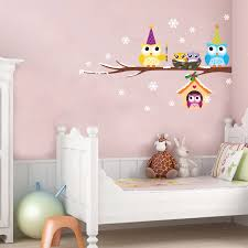 Owl Pictures For Kids Room by 3017a B New Arrival Owl Branch Wall Stickers Cartoon Stickers For