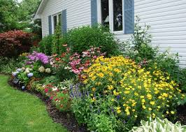 Perennial Garden Design Ideas Outdoor Garden Gorgeous Colorful Flower Garden Backyard Design