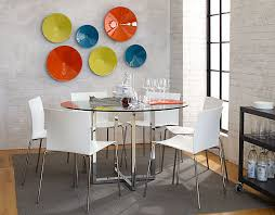Round Glass Kitchen Table 18 Sleek Glass Dining Tables