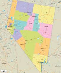 Idaho Counties Map Map Of Nevada Map Travel Holiday Vacations