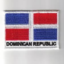 Dominican Republic Flag Republic Embroidered Patches Country Flag Dominican Republic