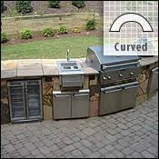 prefab outdoor kitchen grill islands outdoor kitchen barbecues bbq island inspirational design