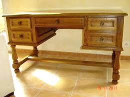 bureau chene bureau en chane massif bureau chene massif design table en u bureau