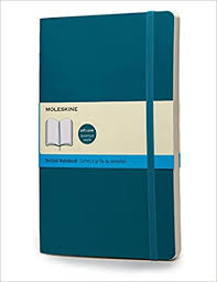 amazon dimana moleskine classic colored notebook large dotted underwater blue