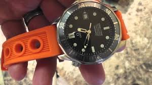 rubber bracelet watches images Horology by irixguy dive watch rubber strap vs stainless jpg