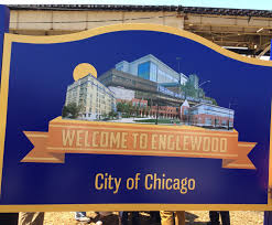 Englewood Chicago Map Englewood Unveils Neighborhood Sign Hopes For Positive Future