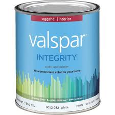 valspar integrity latex paint and primer eggshell interior wall