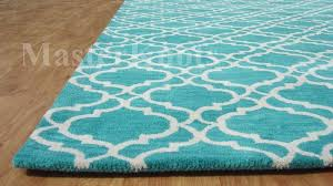 Quatrefoil Area Rug Appealing Endearing Turquoise Area Rug 8 10 8x10 Cievi Home Teal