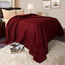 Solid Color Quilts And Coverlets Red Quilts U0026 Coverlets You U0027ll Love Wayfair