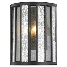 Mosaic Wall Sconce Buy Mosaic Wall Sconce From Bed Bath U0026 Beyond