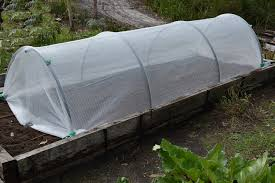 growcover garden insect and frost protection netting protects