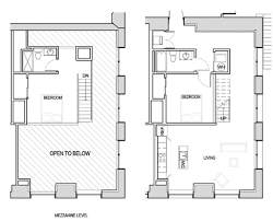 2 bedroom with loft house plans fifth avenue school lofts floor plans