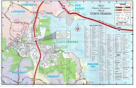 Usps Map Corte Madera Map Corte Madera Chamber Of Commerce Marin County