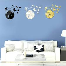 articles with modern pendulum wall clocks uk tag decoration wall large contemporary wall clocks uk design wall clocks uk creative design 3d diy frameless butterfly fairy
