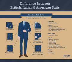 difference between british italian u0026 american suits different