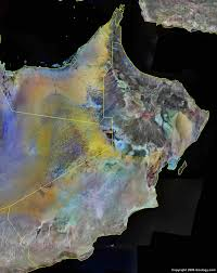 map of oman oman map and satellite image