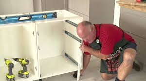 bunnings kitchen cabinets how to join cabinetry for an island bench diy at bunnings youtube