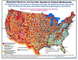Map Of The New World by The Depopulation Agenda For A New World Order Agenda 21