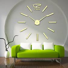 diy for home decor using wall clock for home decoration ward log homes